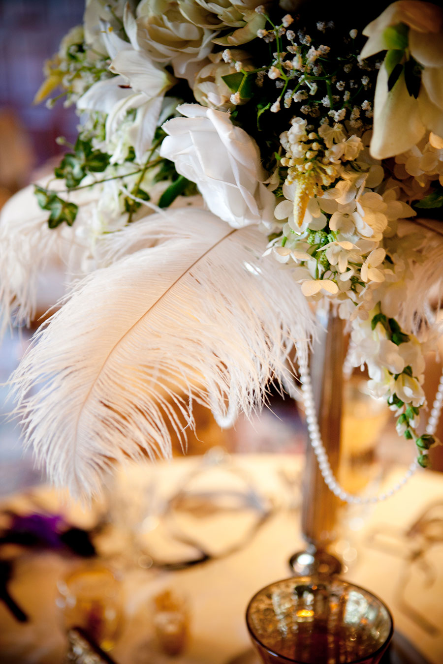 pumpkin events feathers and flowers