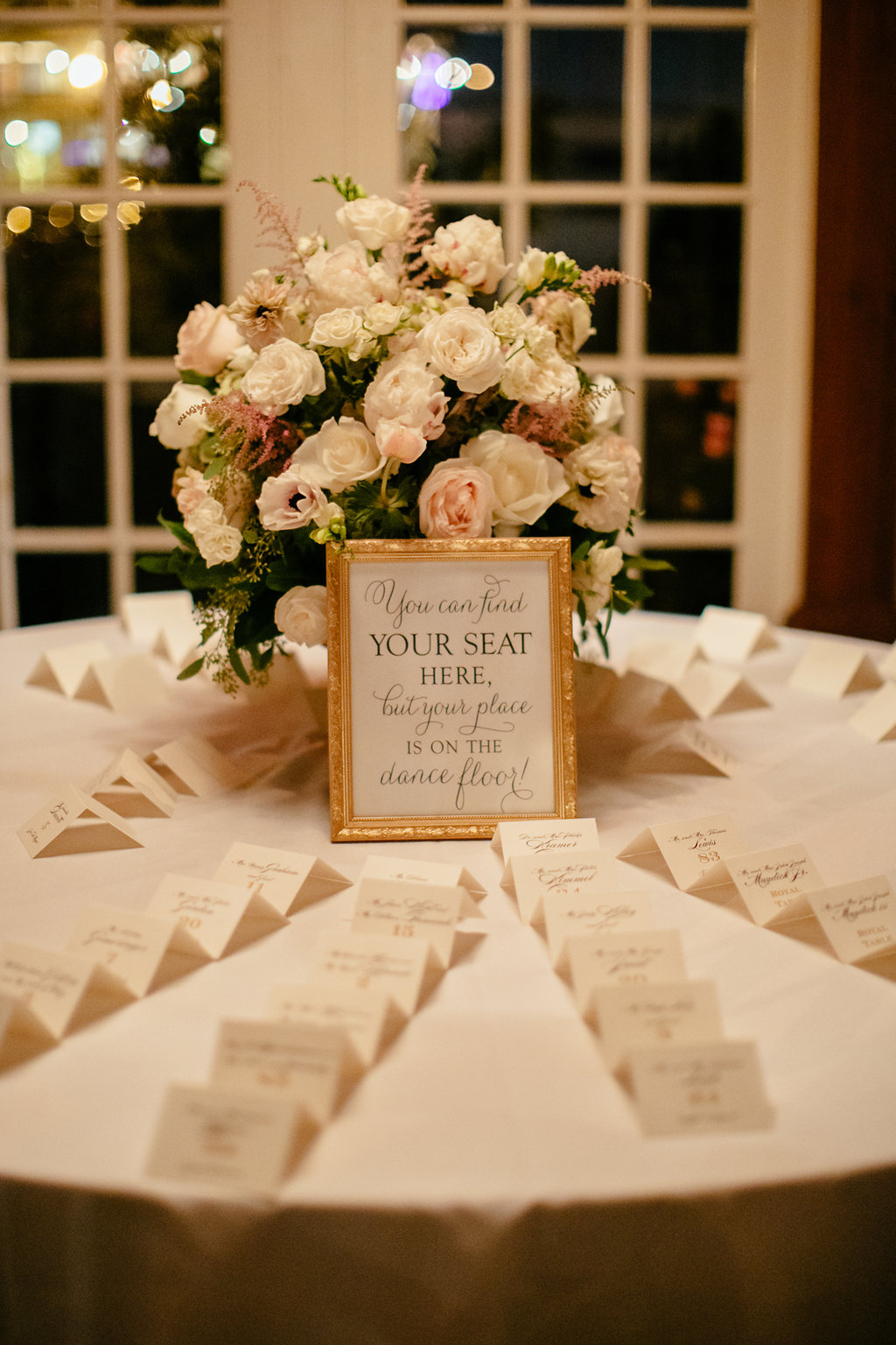 your seat here escort cards