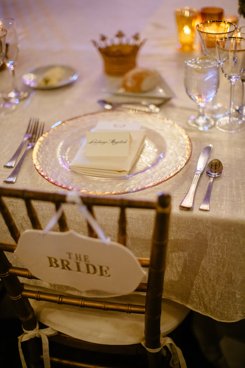 bride's royal dining table