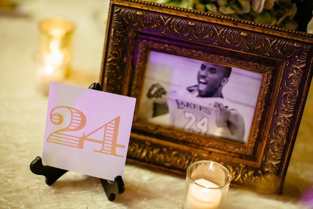 pumpkin events sports inspired table numbers