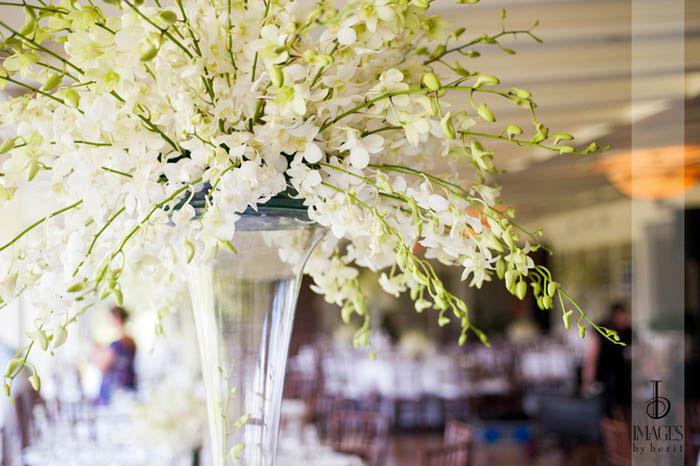 pumpkin events white orchids