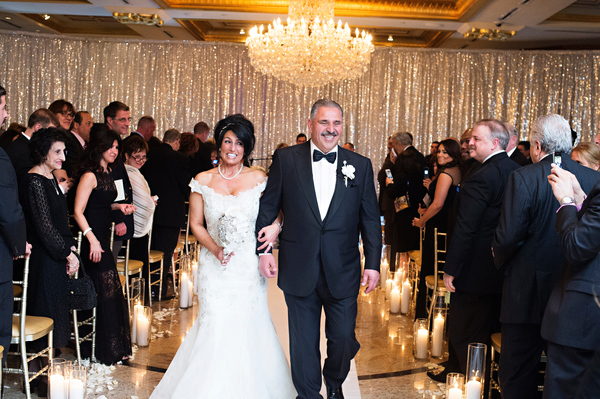 bride and father walking down aisle 2
